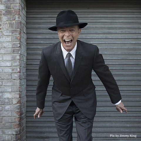 David Bowie Jan 8, 2016 Photo by Jimmy King